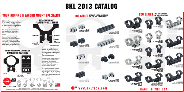 BKL 2013 Catalog