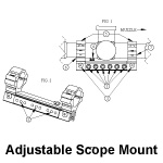 Adjustable Scope Mount Instructions