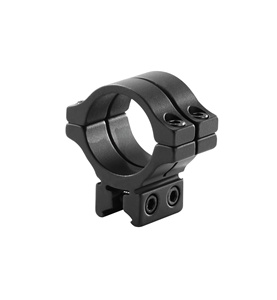 "BKL-304 1"" Long Double Strap Dovetail Ring - Low - Single"