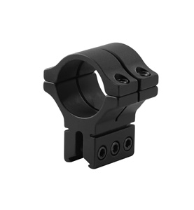 "BKL-307 1.263"" Long Double Strap Dovetail Ring - Single"